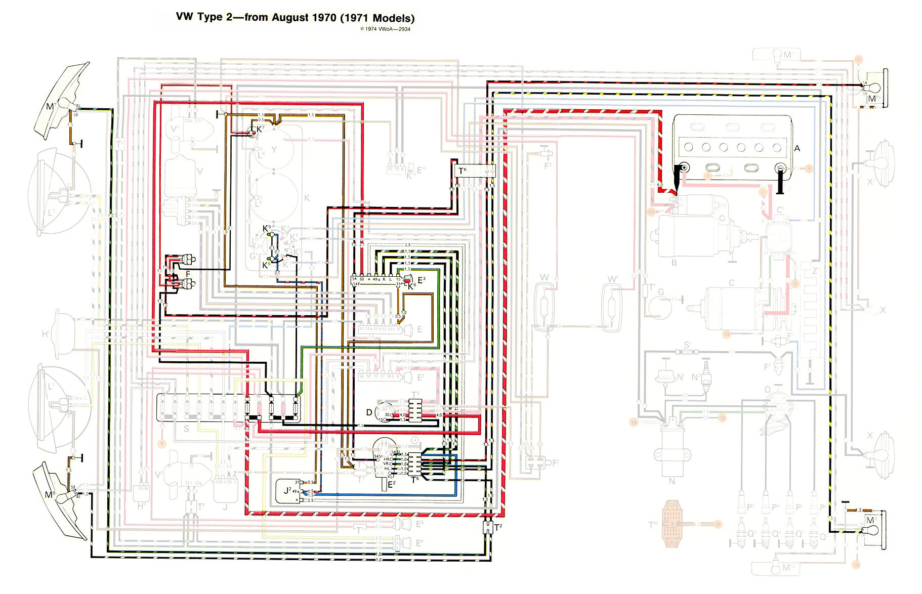 1971Bus_Signals thesamba com type 2 wiring diagrams 1971 corvette wiring diagram at panicattacktreatment.co