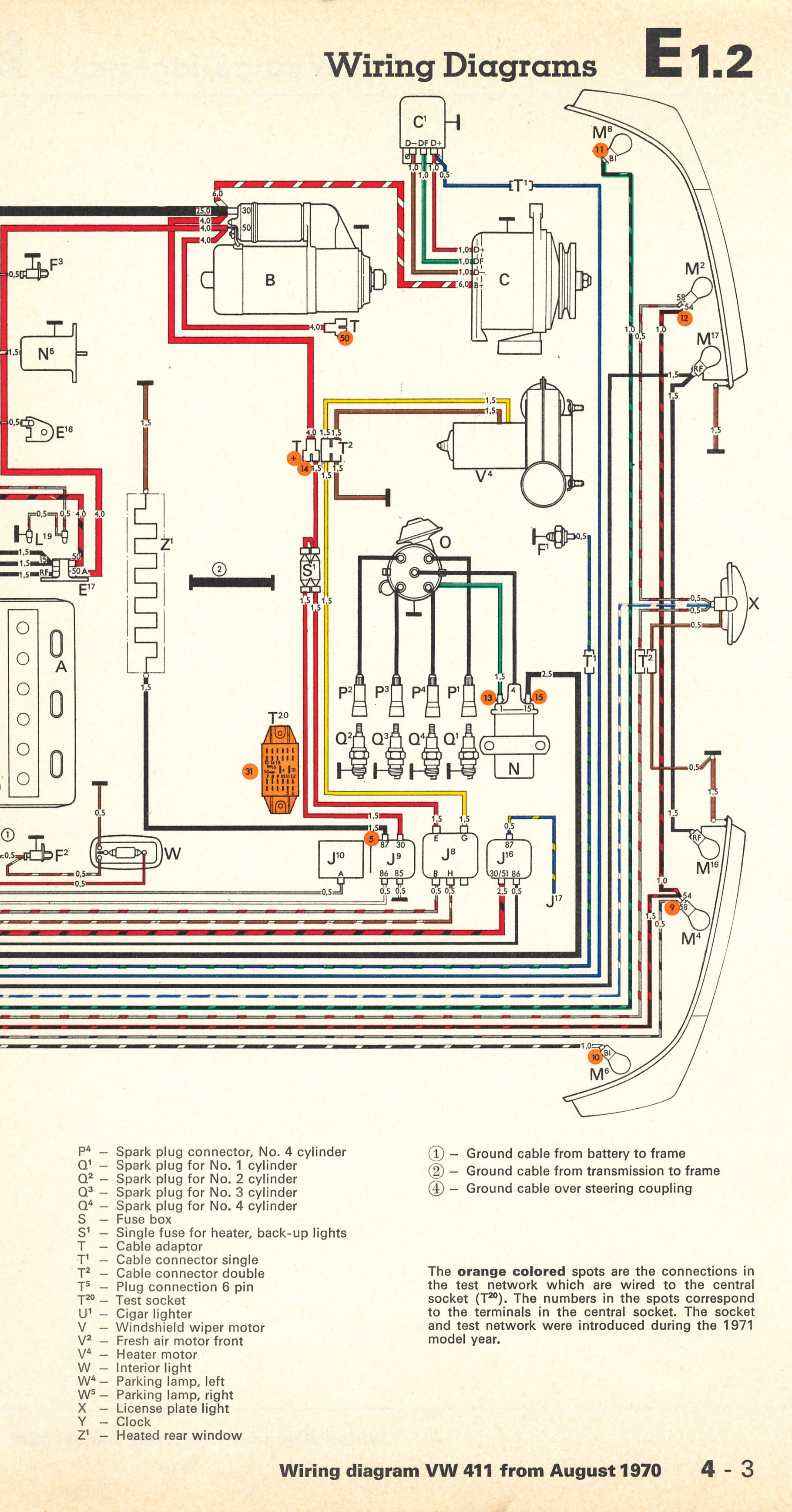 thesamba.com :: type 4 wiring diagrams wiring diagram 5s1f #11