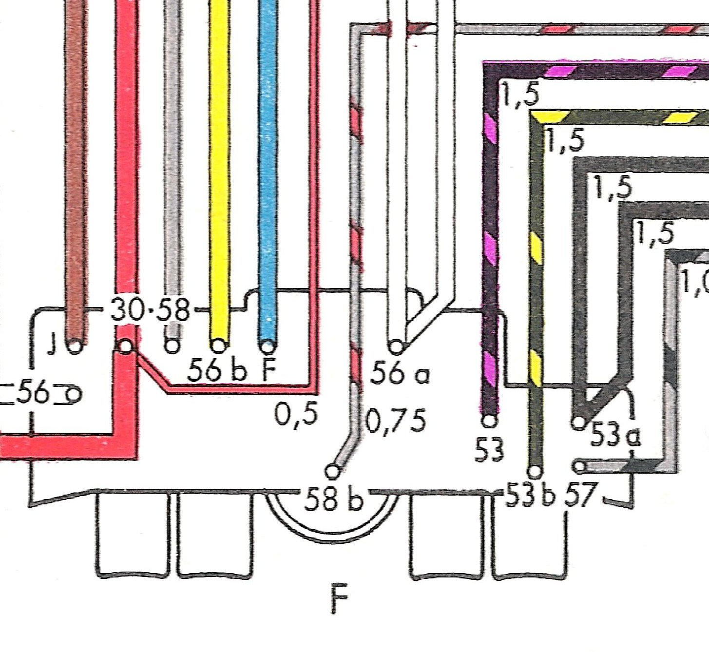 Type 3 Wiring Diagrams Push On Ignition Switch Diagram Key Button Dash Please Right Click To Save As The Above