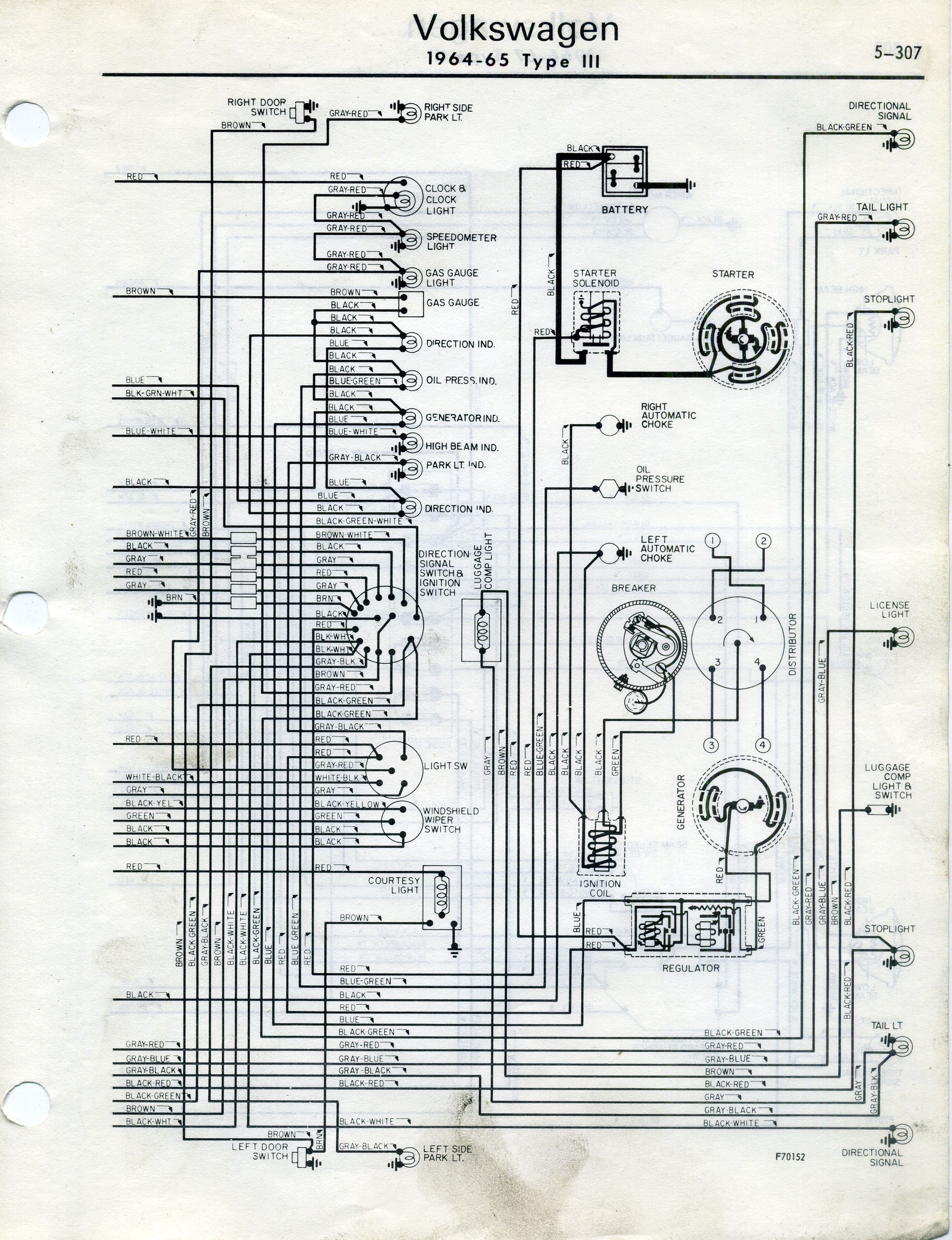 Thesamba Type 2 Wiring Diagrams 5 Wiring Diagram Fuse Box