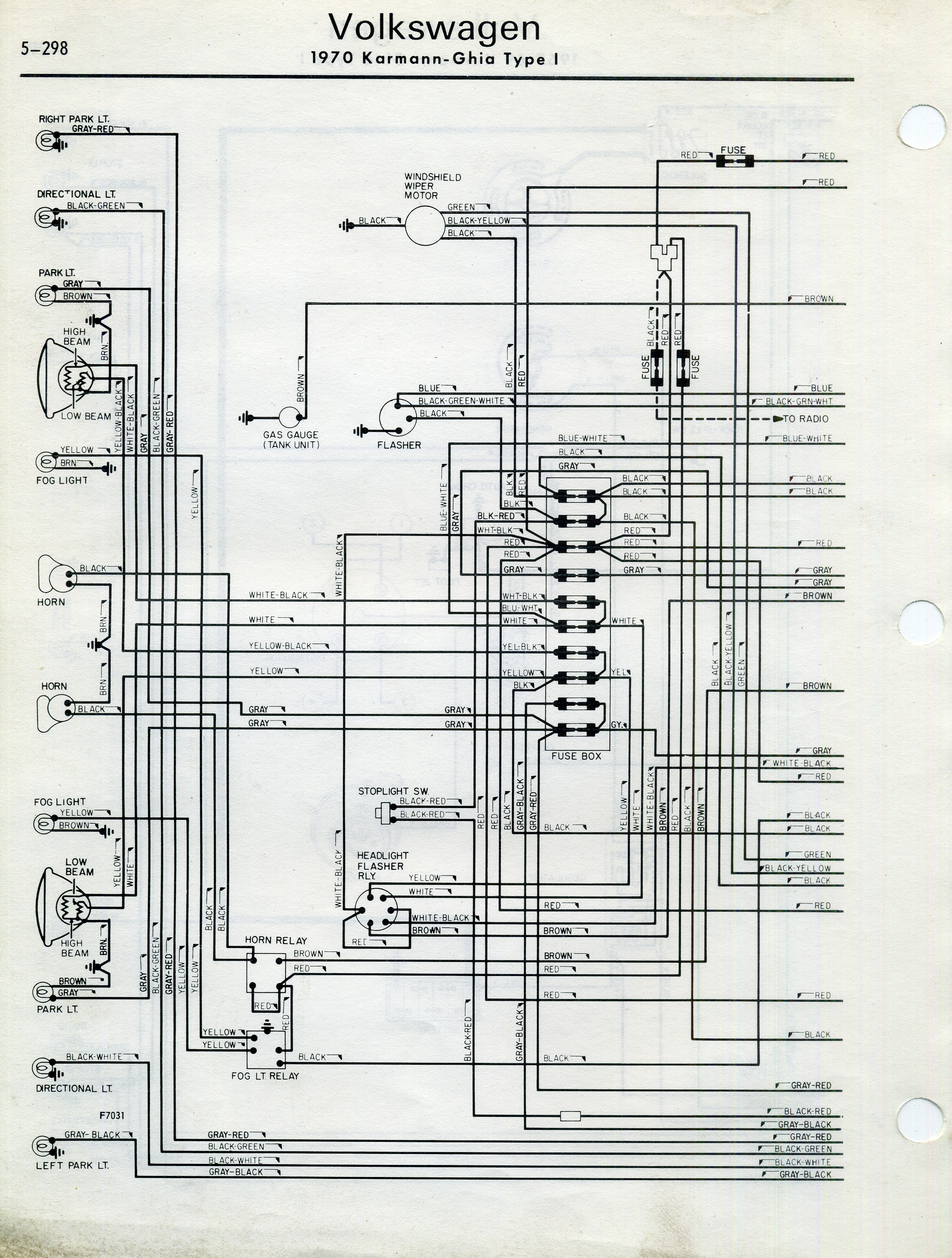 1958 vw wire diagram