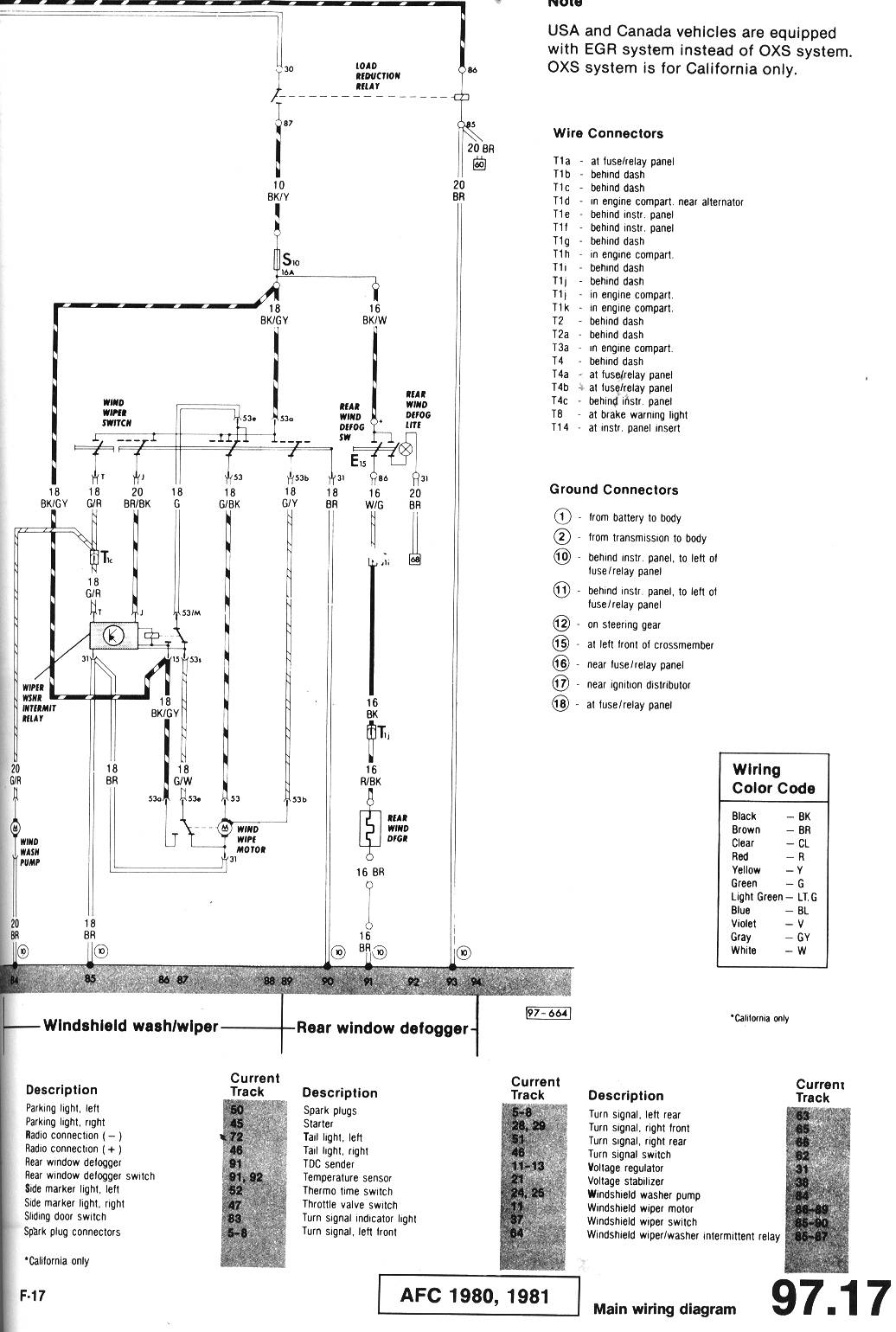 1980 Camaro Wiper Switch Wiring Diagram Library 1992 S10 Motor Thesambacom Beetle Late Model Super 1968 Up