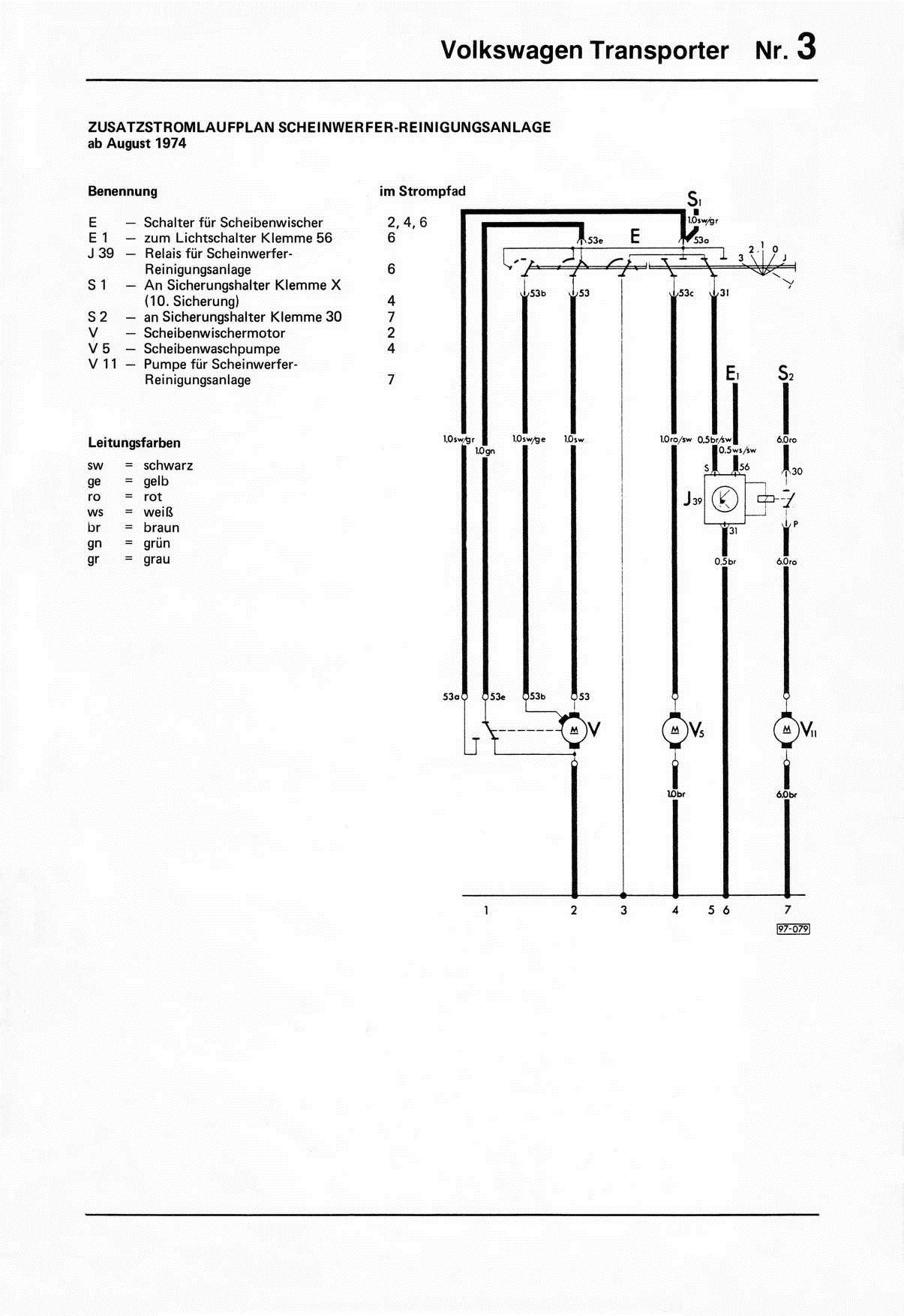 Vw Double Relay Wiring Diagrams 1978
