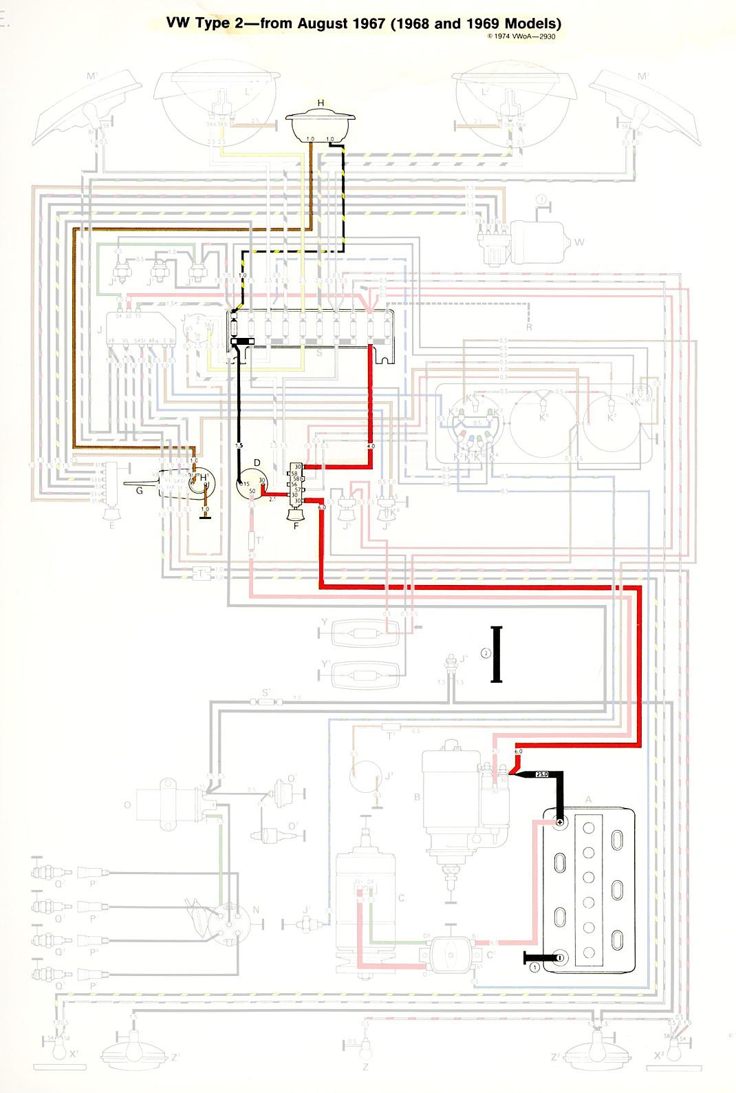 thesamba.com :: type 2 wiring diagrams meyer plow wiring diagram 68
