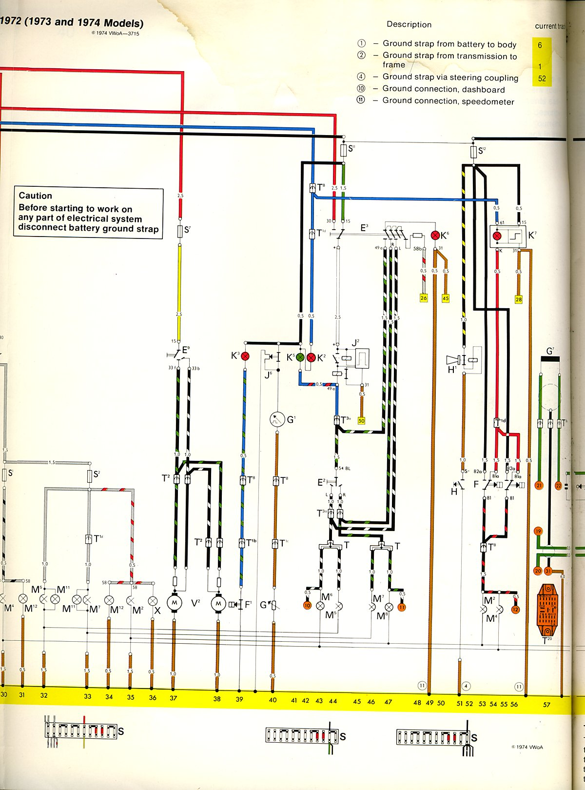 Classic Vw Wiring Expert Diagram 1967 Beetle Color I M Looking For A Coded 1973