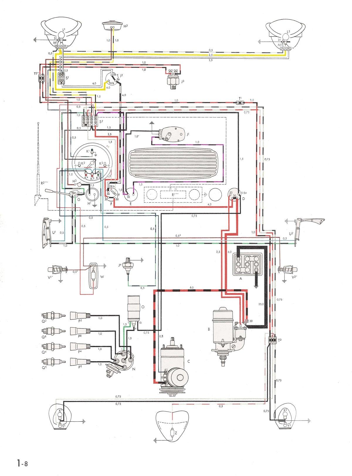 TheSamba.com :: Type 1 Wiring Diagrams The Samba