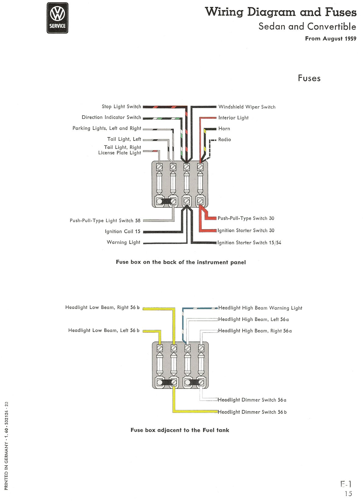 Highbeam Wiring Diagram Peterbilt 2007 379 Thesamba Com Type 1 Diagramshighbeam 15