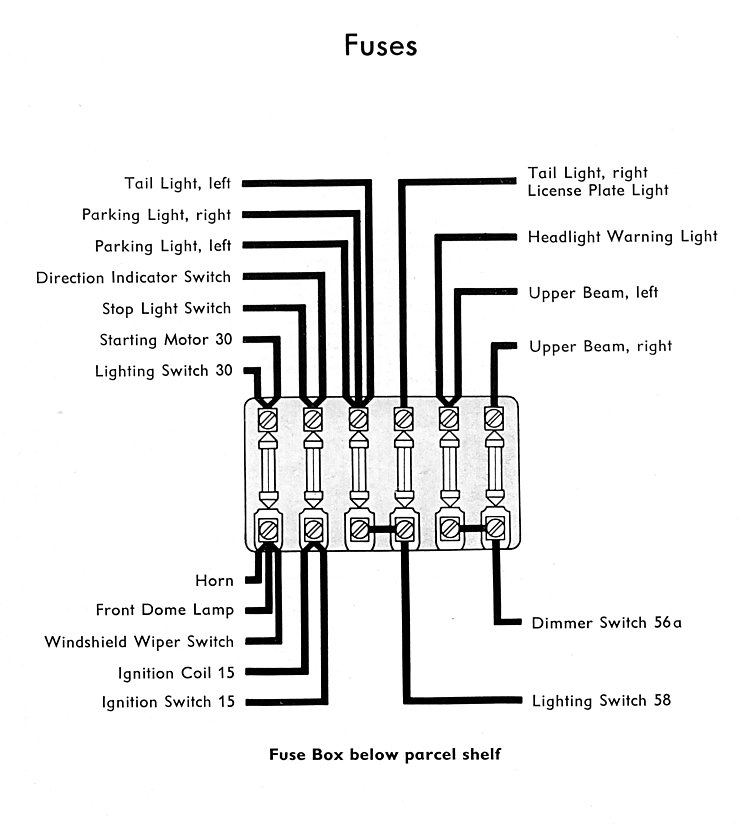 bus_nov57_fuses thesamba com type 2 wiring diagrams 1957 vw beetle wiring diagram at bayanpartner.co