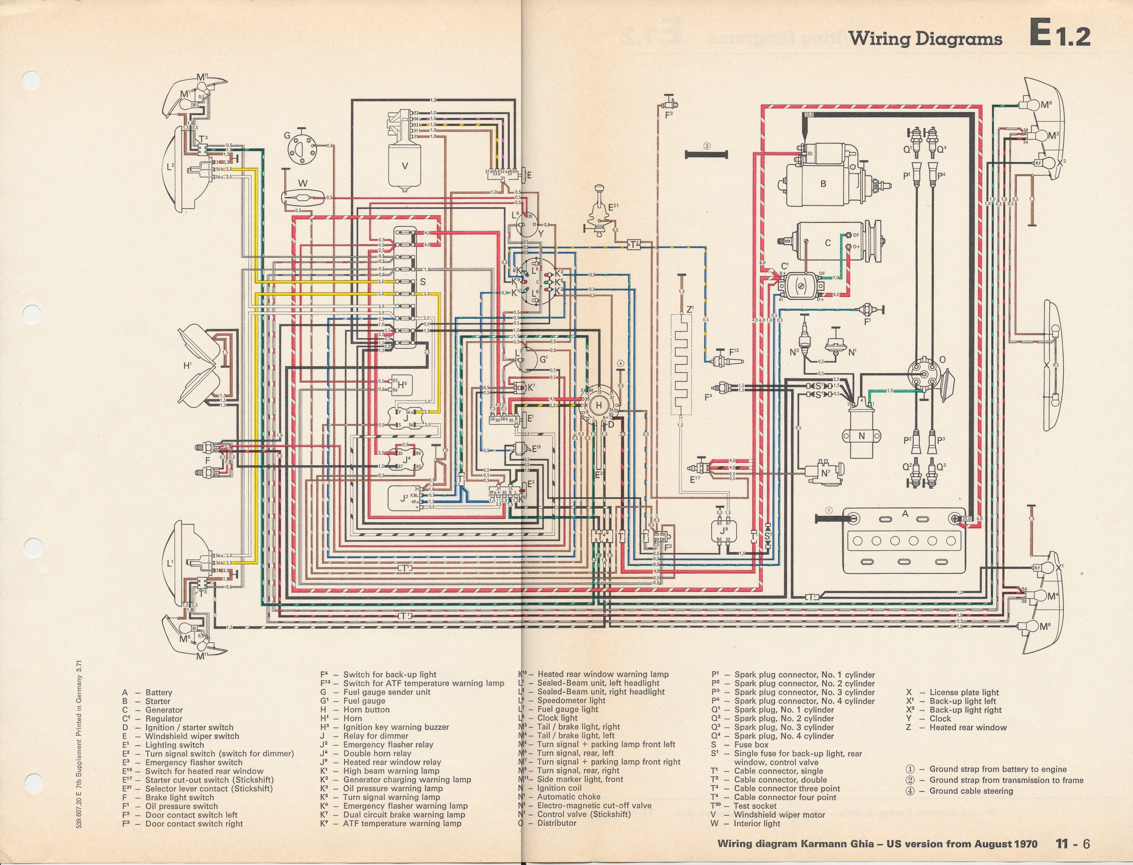 wiring diagram for 1971 vw bus the wiring diagram vw turn signal wiring diagram nilza wiring diagram