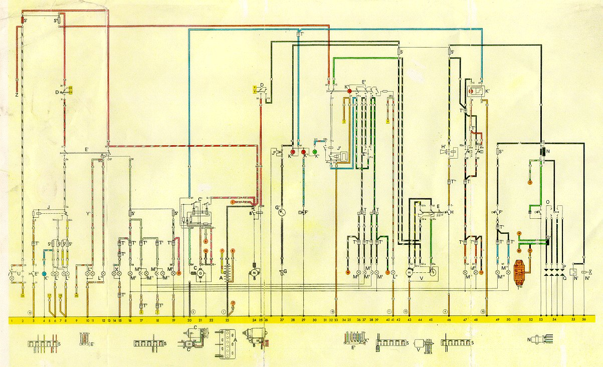 thesamba com vw thing wiring diagrams 2002 vw beetle fuse diagram 1974 vw thing wiring diagram #1