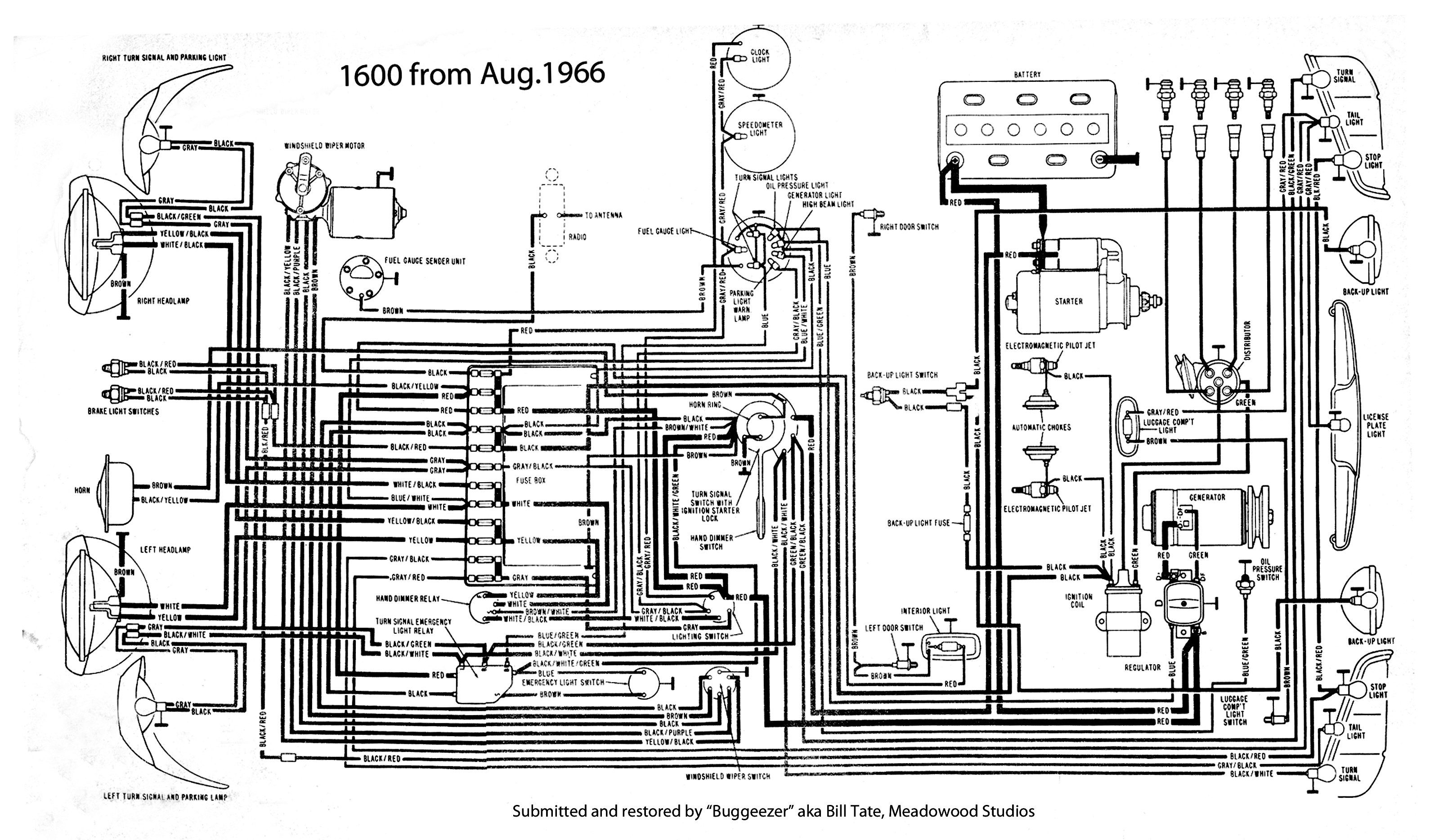 Vw Squareback Wiring Diagram   Fusebox and Wiring Diagram wires x ...