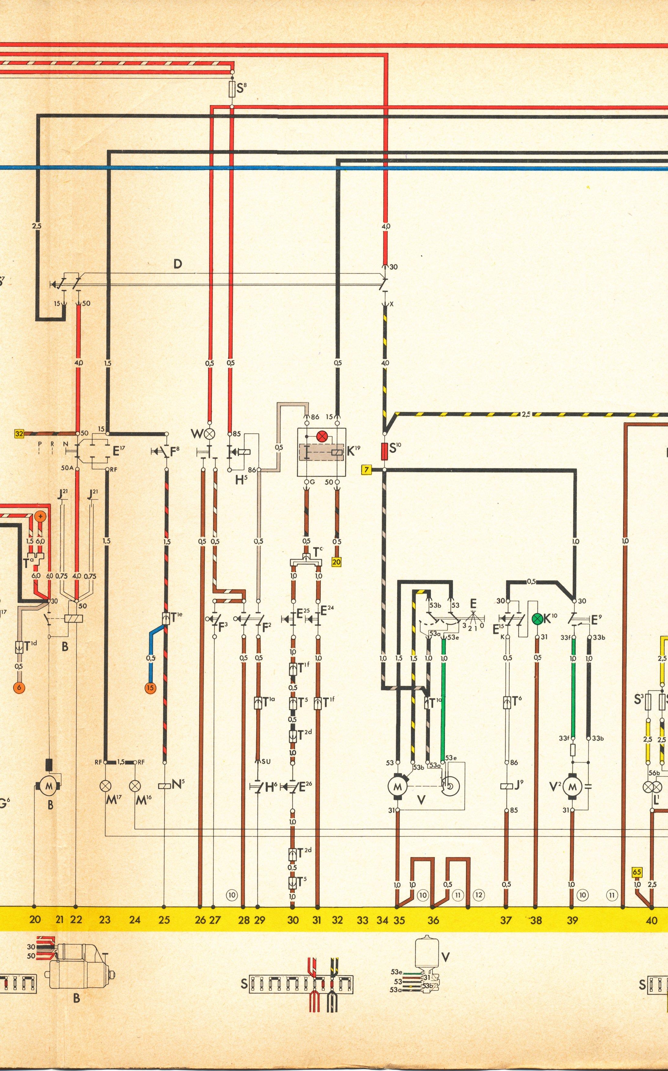 Diagram Thesamba Com Type 4 Wiring Diagrams