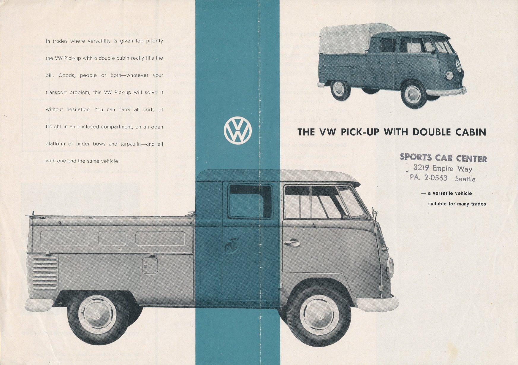 Vw archives 1959 vw double cab flyer for Garage volkswagen flers