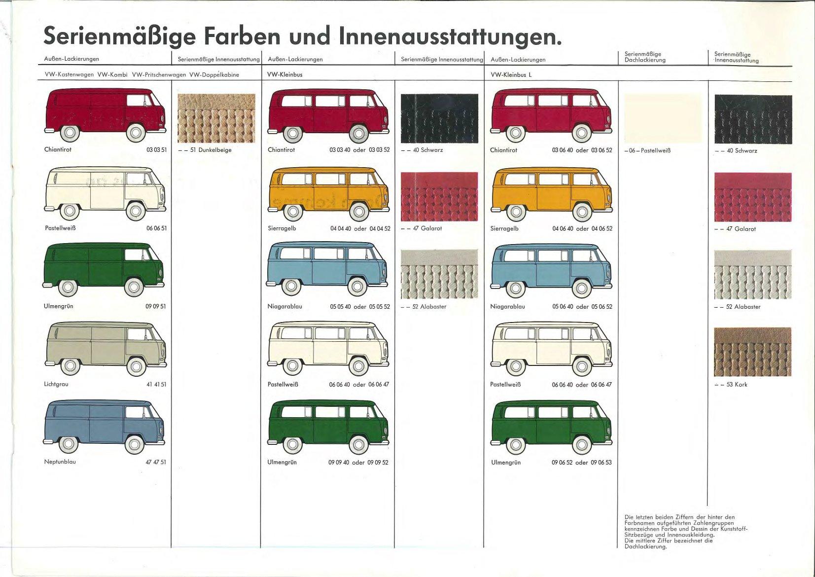 Thesamba Com Vw Archives 1971 Vw Bus Commercial Vehicles German