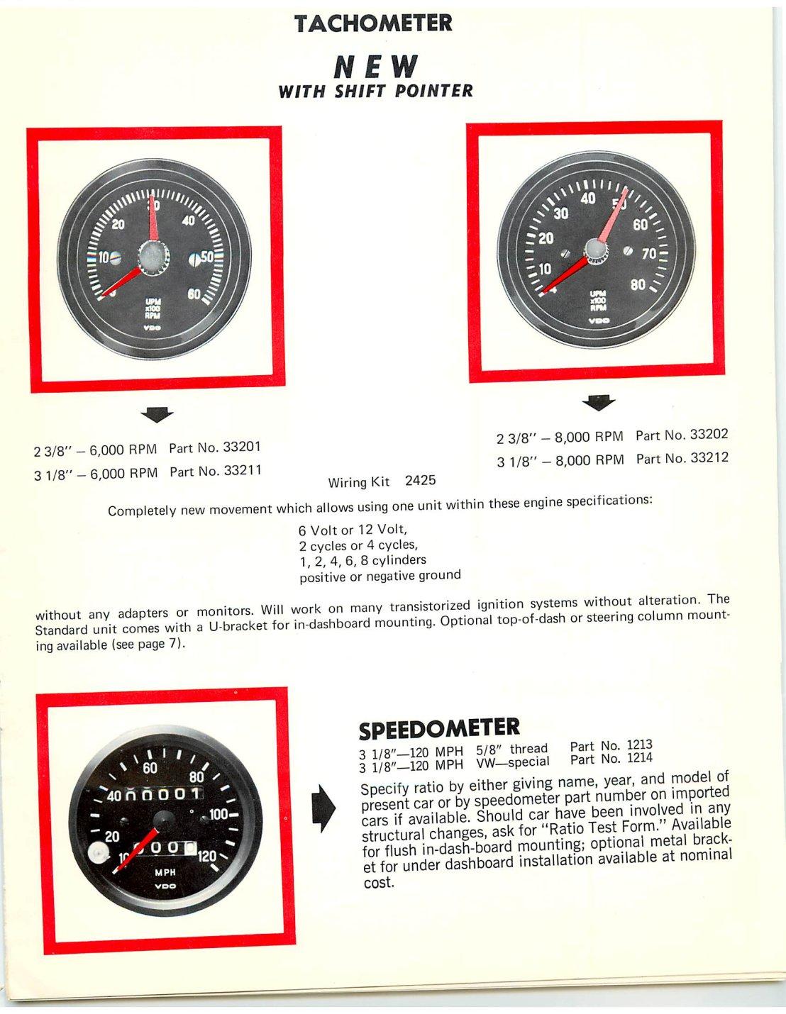 Vdo Marine Tachometer Wiring Diagram Diesel Infrared Wire Diagram ...