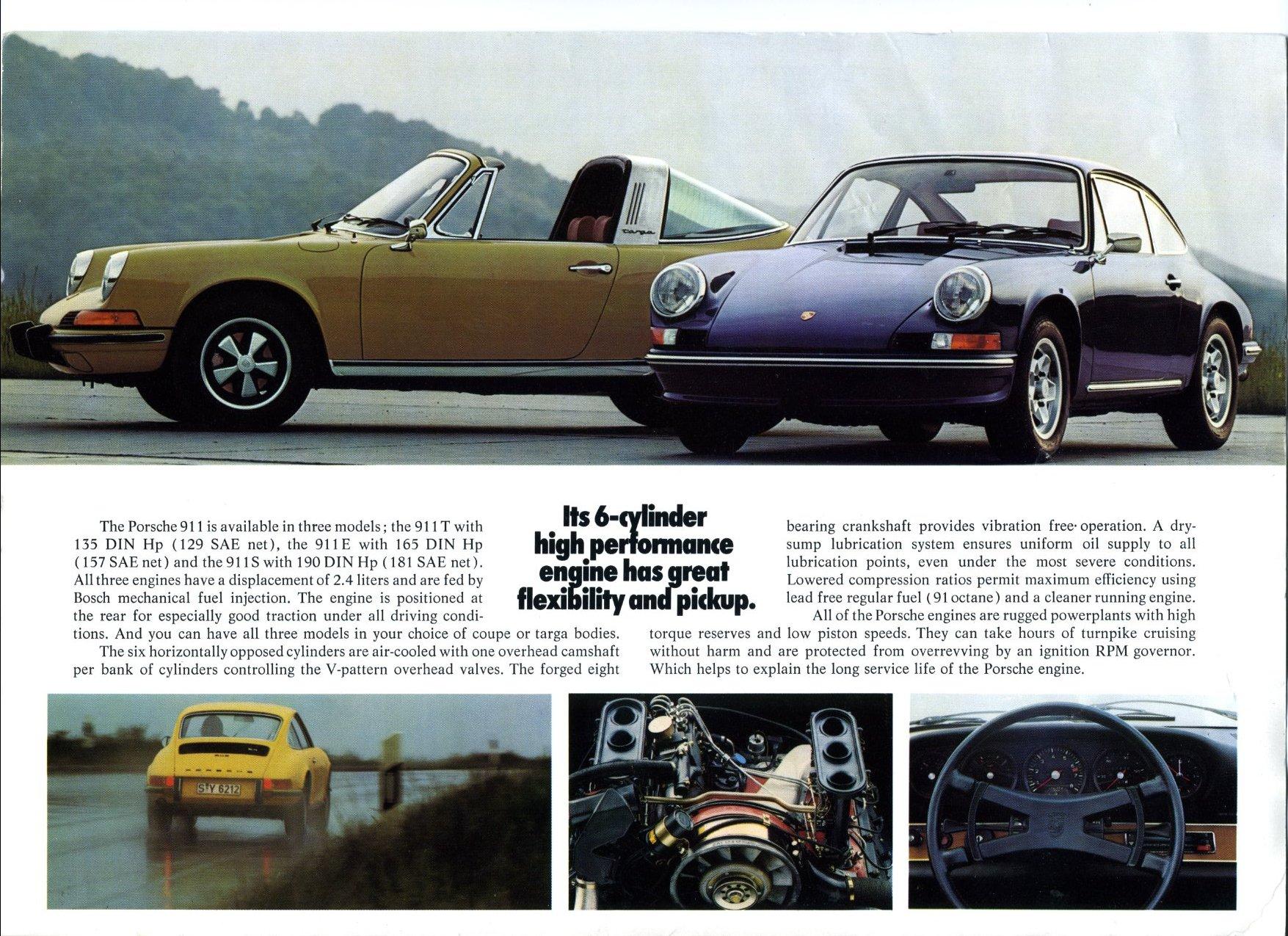 Thesamba Com Vw Archives 1973 1974 Porsche 911 Sales