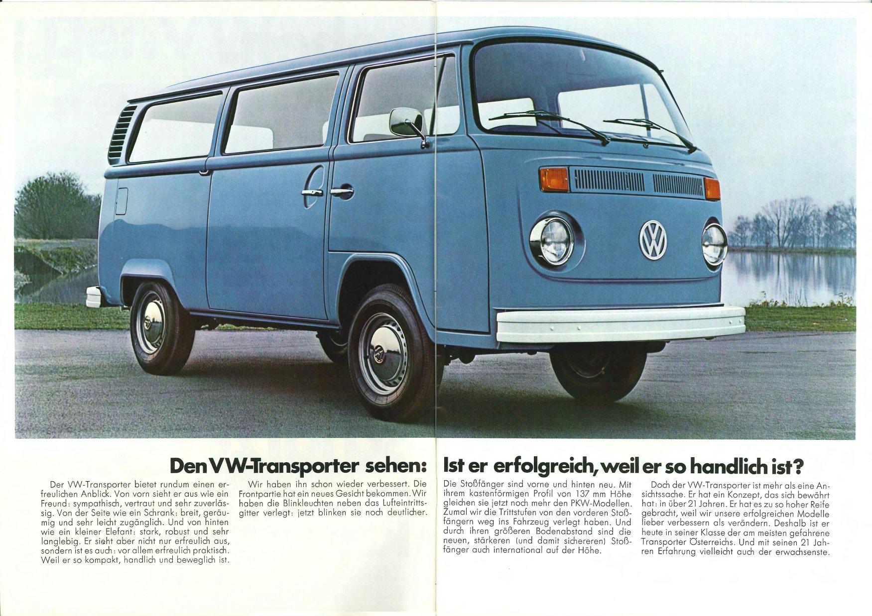 vw archives 1973 vw bus sales brochure. Black Bedroom Furniture Sets. Home Design Ideas