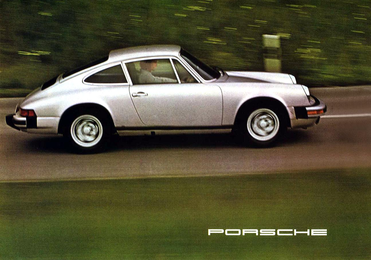 Thesamba Com Vw Archives 1975 Porsche 911 Brochure