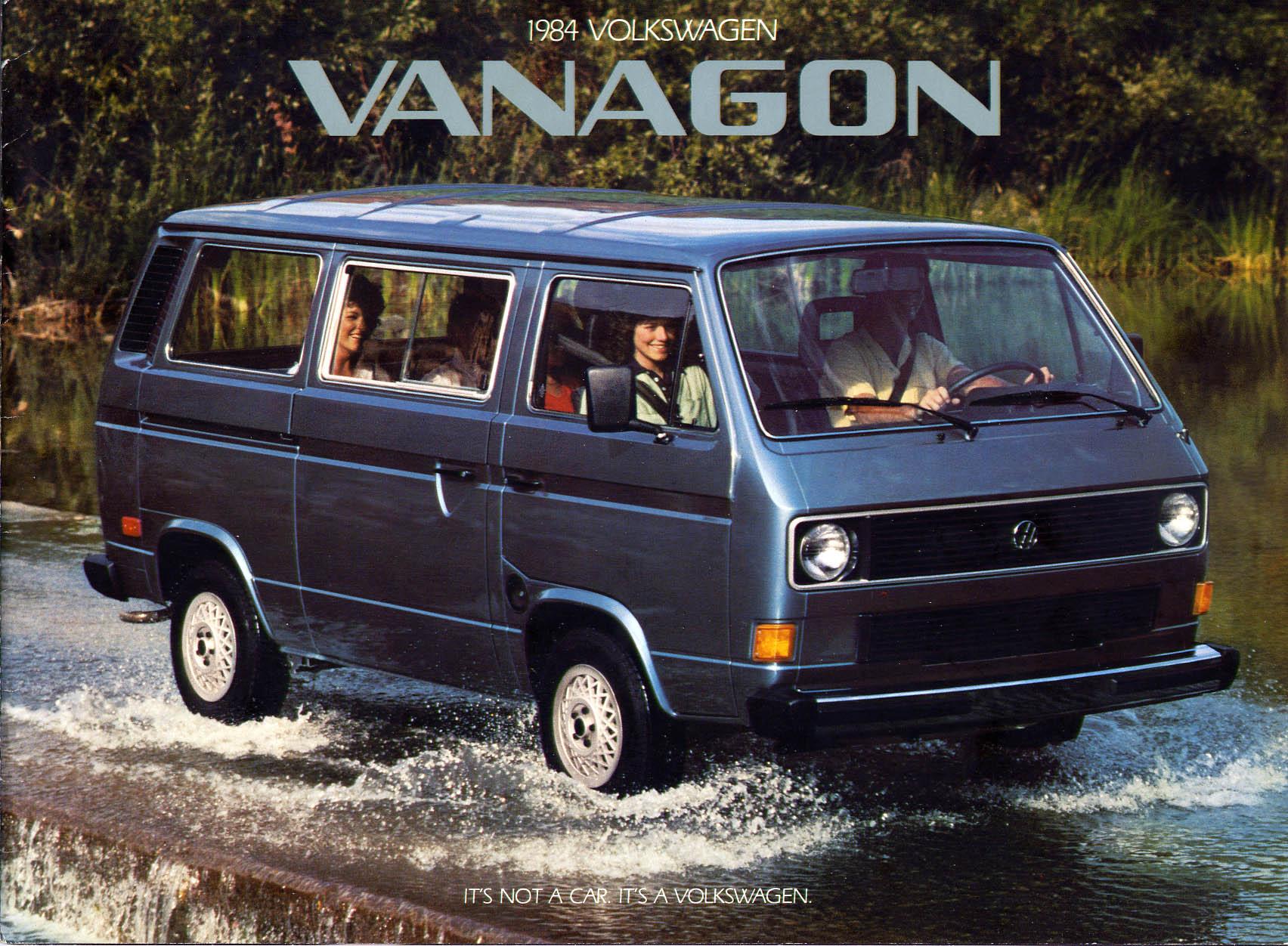Thesamba Com Vw Archives 1984 Vw Vanagon Brochure
