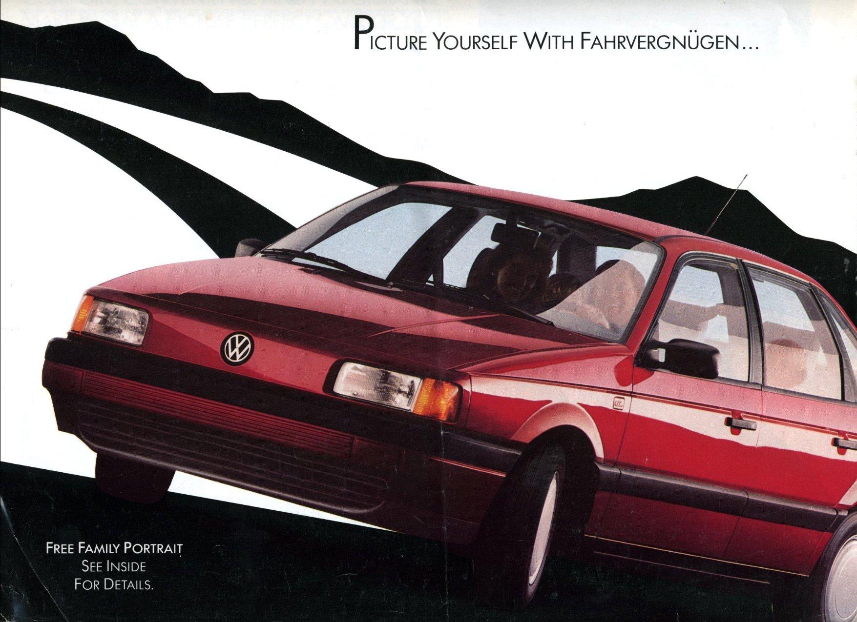 VWVortex.com - 1990 VW Passat Fahrvergnugen Brochure