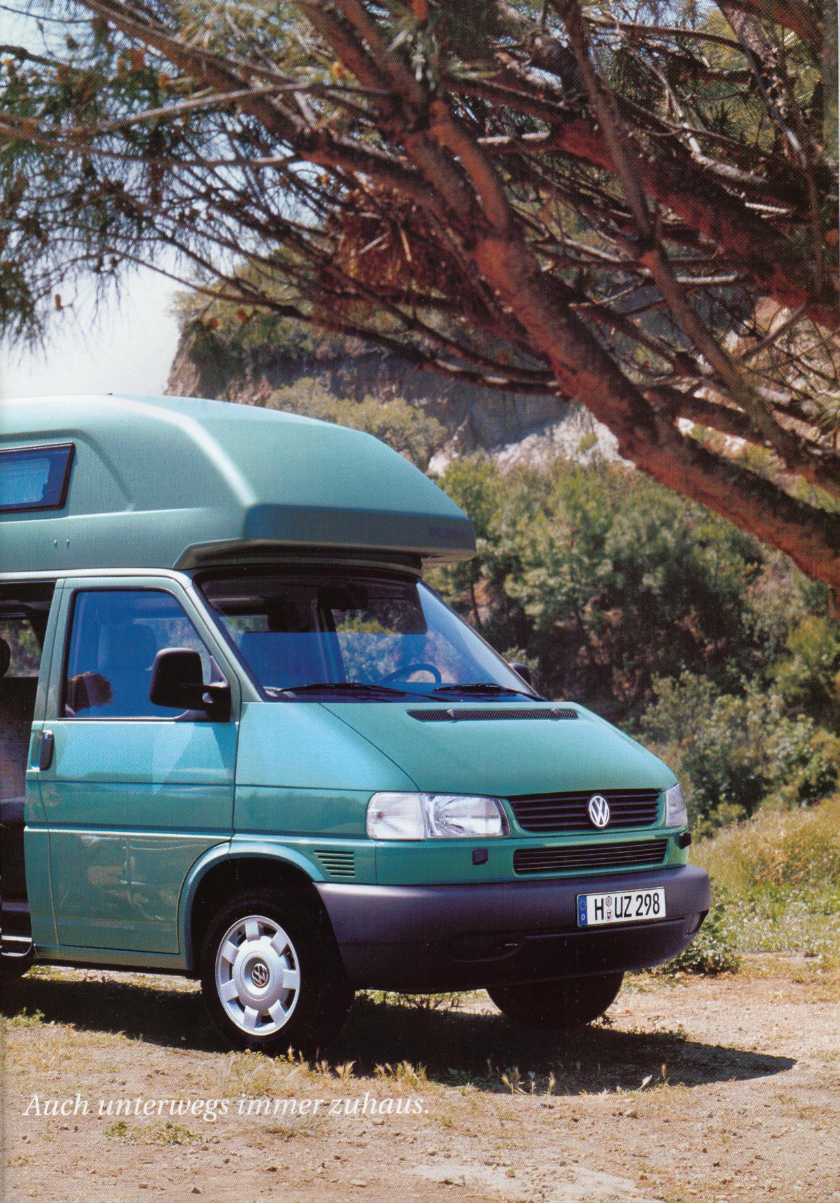 Volkswagen Of America >> TheSamba.com :: VW Archives - 2000 VW Westfalia California ...