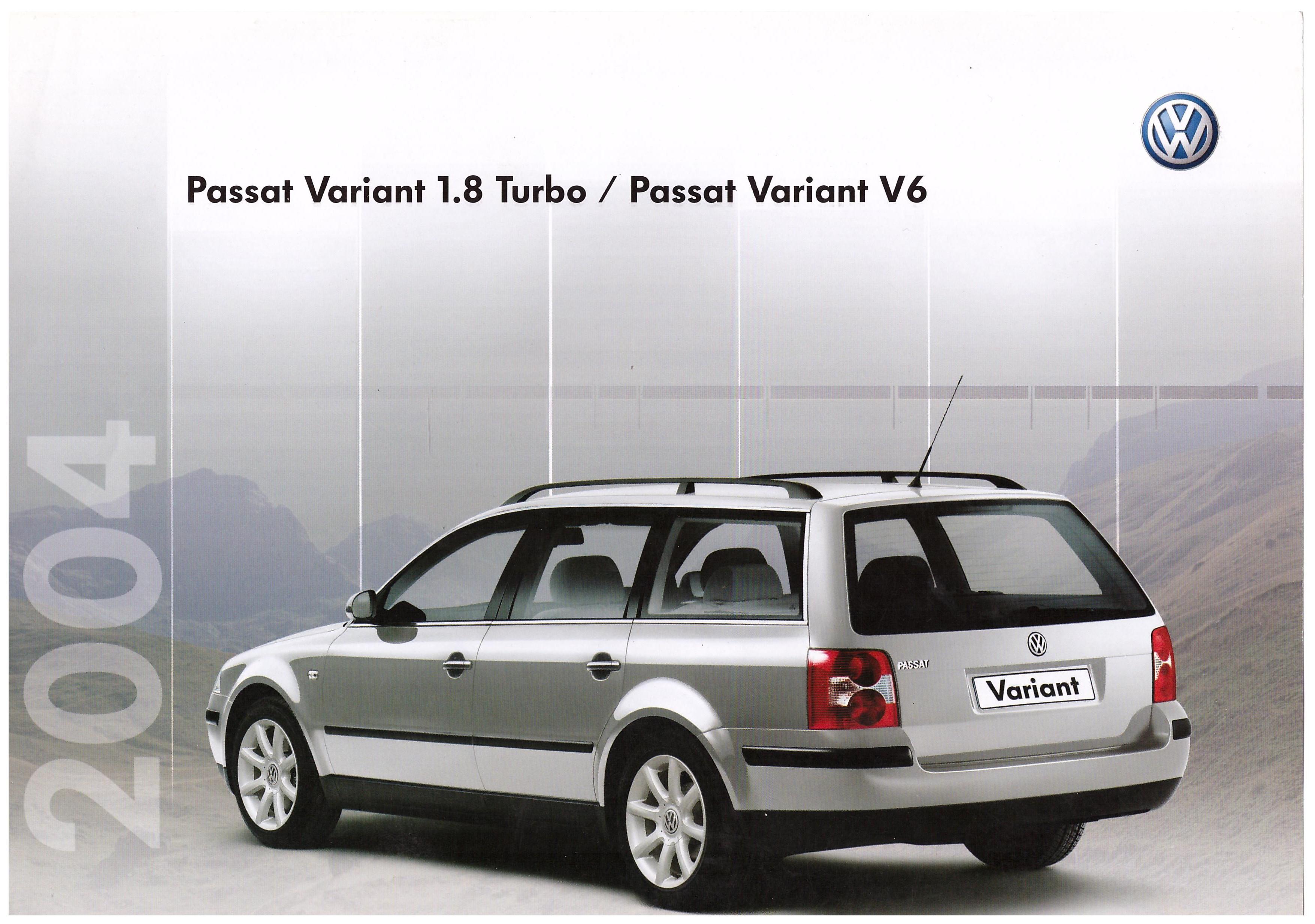 vw archives 2004 vw passat variant 1 8 turbo passat variant v6 sales. Black Bedroom Furniture Sets. Home Design Ideas
