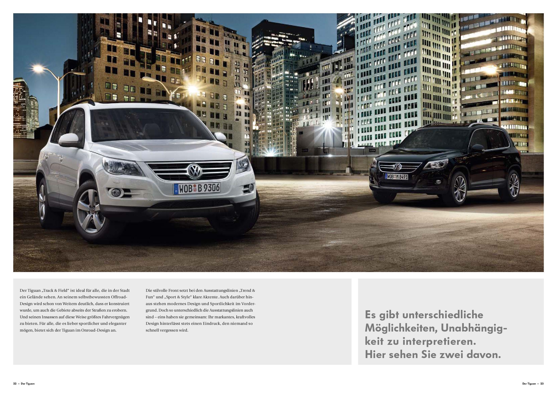 TheSamba.com :: VW Archives - 2009 VW Tiguan Sales Brochure - German