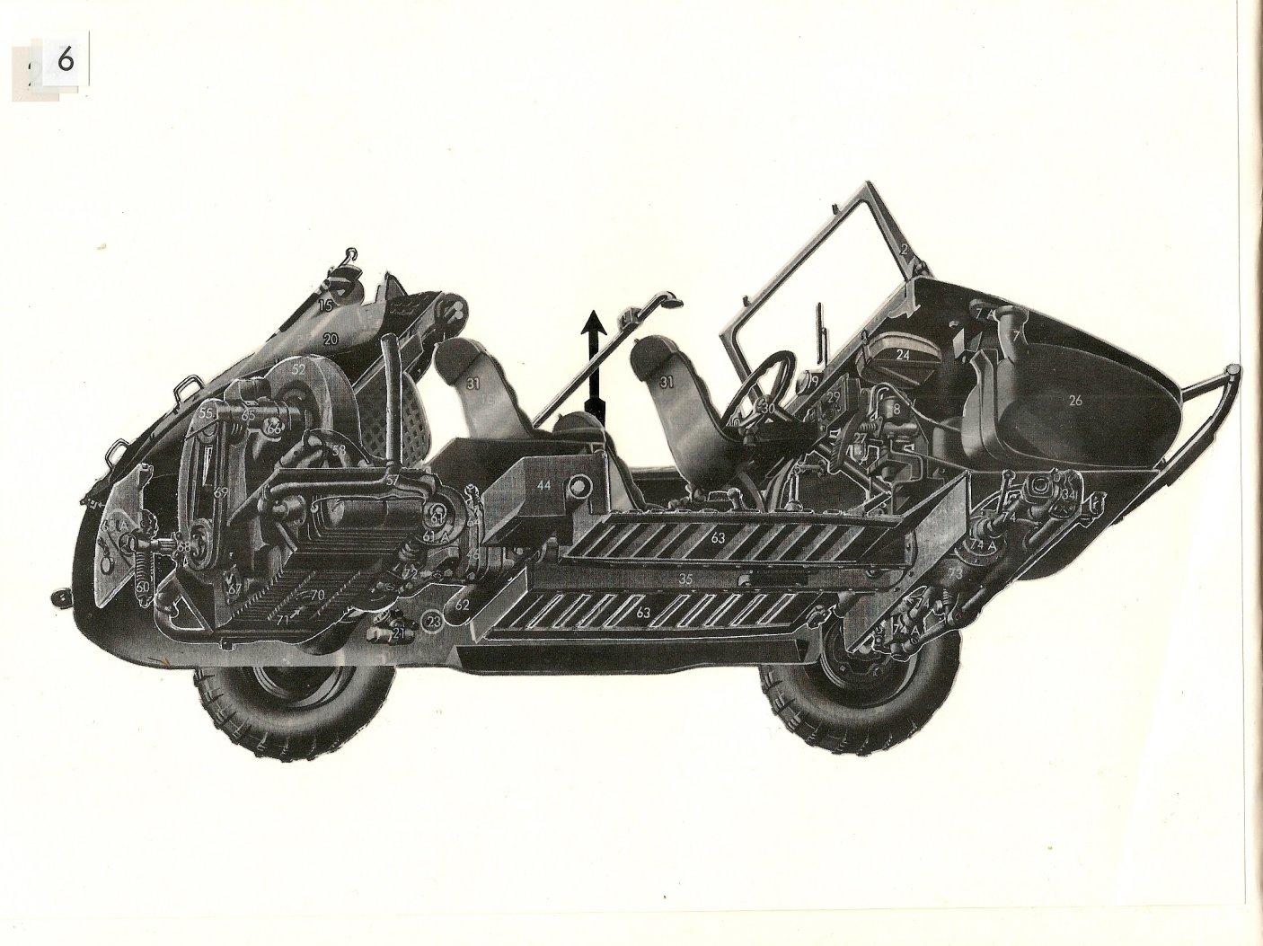 Thesamba Com Vw Archives 1942 Schwimmwagen Type 166 Brochure German