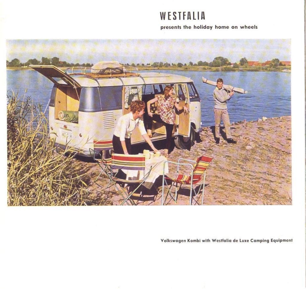 Campingkeuken Deluxe : Amerikaanse brochure Campingbox DeLuxe, 1957