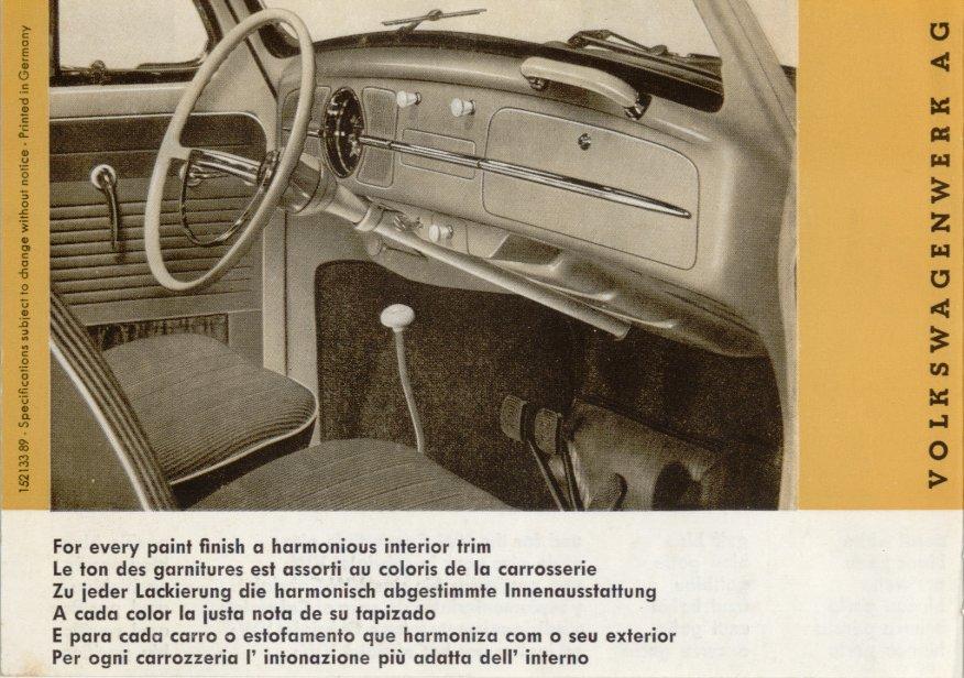 TheSamba.com :: VW Archives - 1961/1962 Beetle Colors