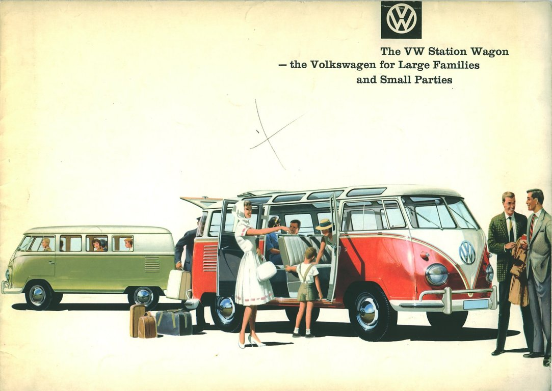Thesamba Com Vw Archives 1960 Vw Bus Sales Brochure
