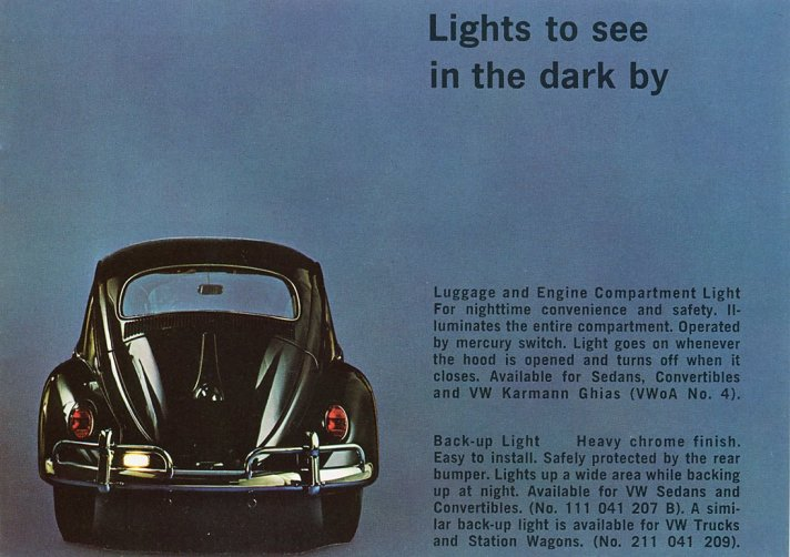 Vw Beetle Reverse Light Wiring - Introduction To Electrical Wiring ...