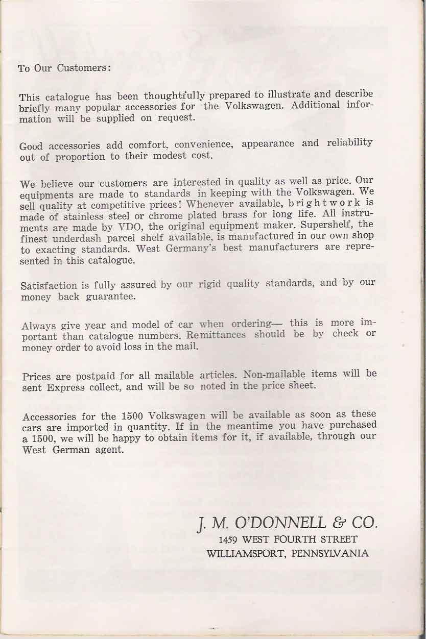 TheSamba com :: VW Archives - 1962 J  M  O'Donnell