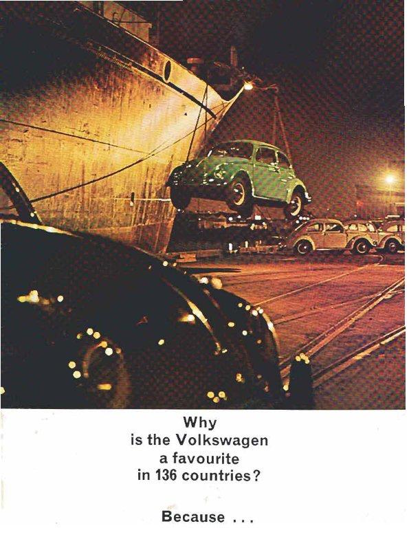 TheSamba com :: VW Archives - 1964 VW Beetle Brochure