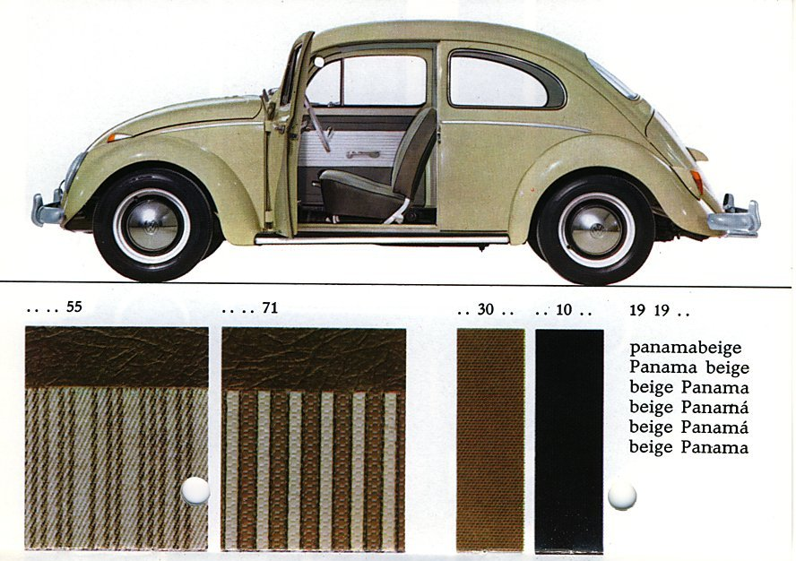 Example Of Pacific Blue Paint On A 1963 Volkswagen Beetle