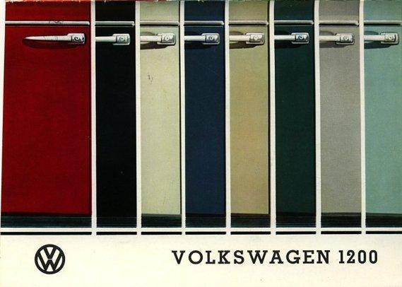 Thesamba Com Vw Archives 1965 Vw Bug Colors