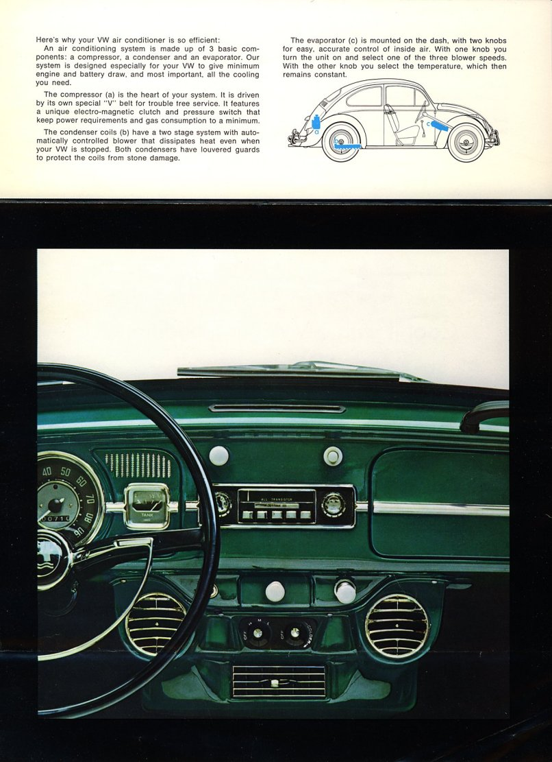 TheSamba.com :: VW Archives - 1966 Beetle and Type 3 Air Conditioning Brochure