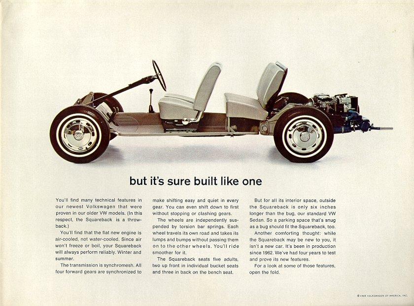 1971 Vw Type 3 Squareback
