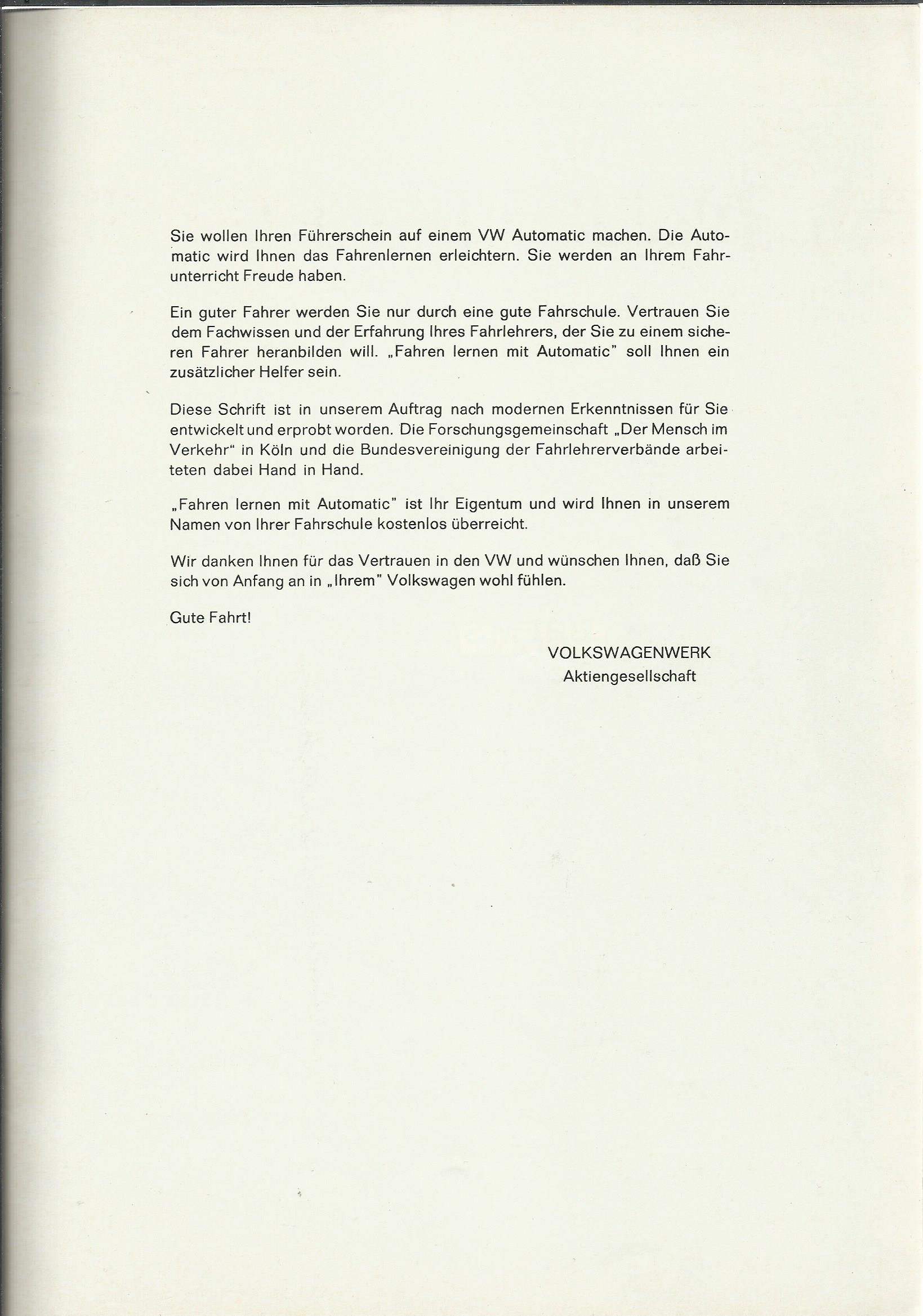 Vw Archives 1969 Automatic Booklet German For A 197679 Http Wwwthesambacom Inf Wiringjpg