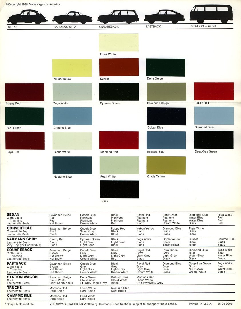 2014 Volkswagon Colors.html | Autos Weblog