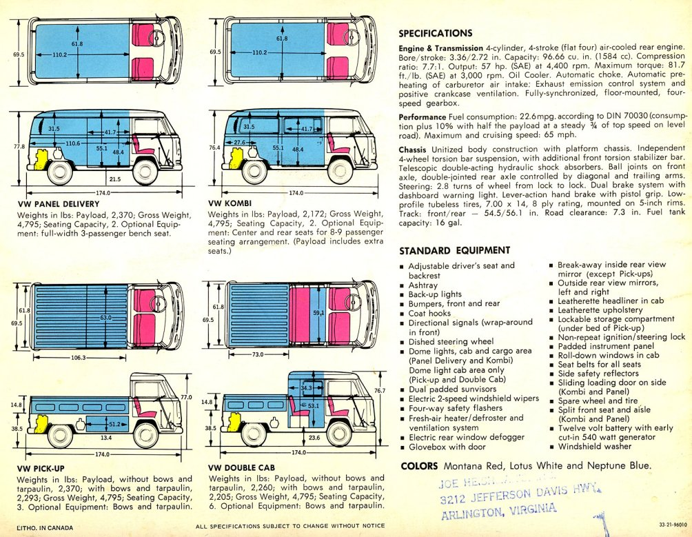 TheSamba com :: Bay Window Bus - View topic - Floor