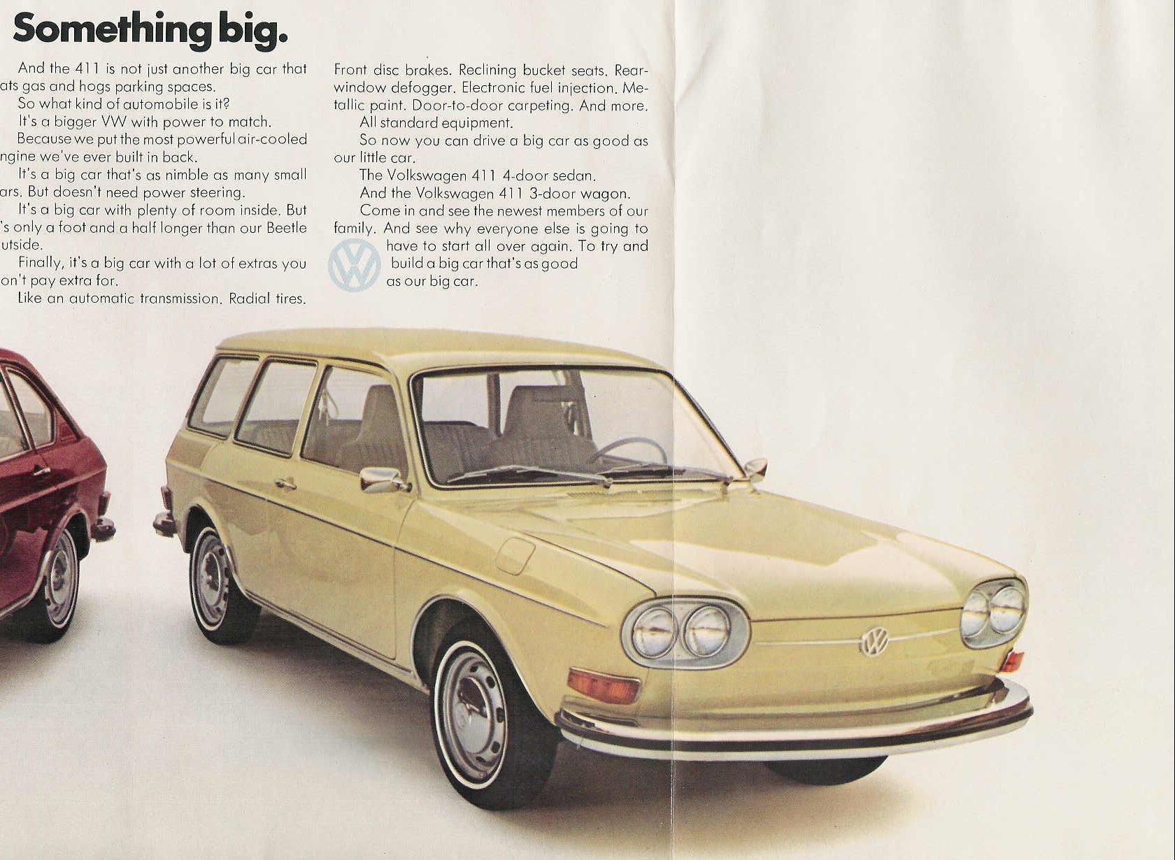 TheSamba.com :: VW Archives - 1972 VW 411 Sales Brochure