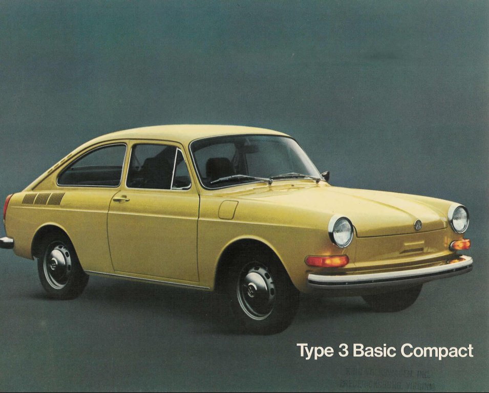 vw archives 1973 type 3 basic compact. Black Bedroom Furniture Sets. Home Design Ideas