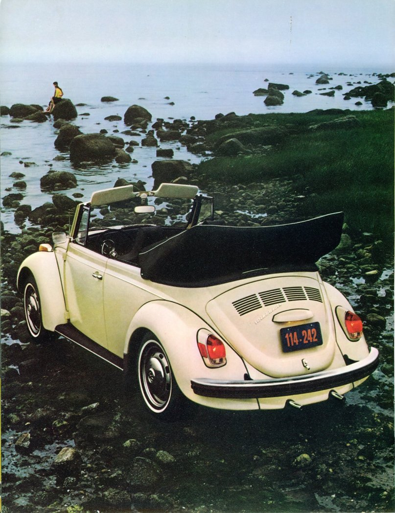 Thesamba Com    1972 Vw Super Beetle Brochure
