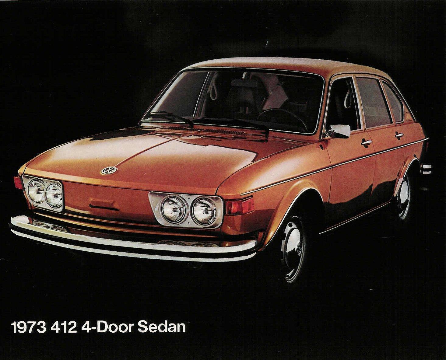 TheSamba.com :: VW Archives - 1973 US Color sheet - VW 412 4-door sedan