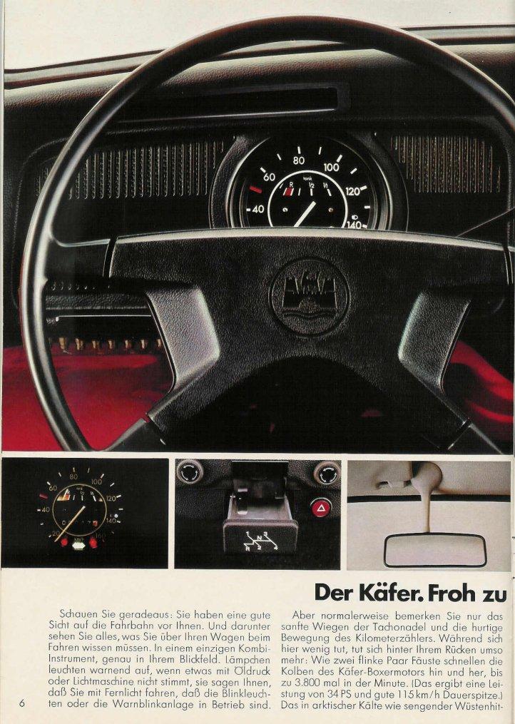 Vw Of America >> TheSamba.com :: VW Archives - 1977 Beetle Brochure - German