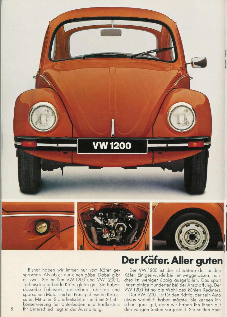 TheSamba.com :: VW Archives - 1977 Beetle Brochure - German