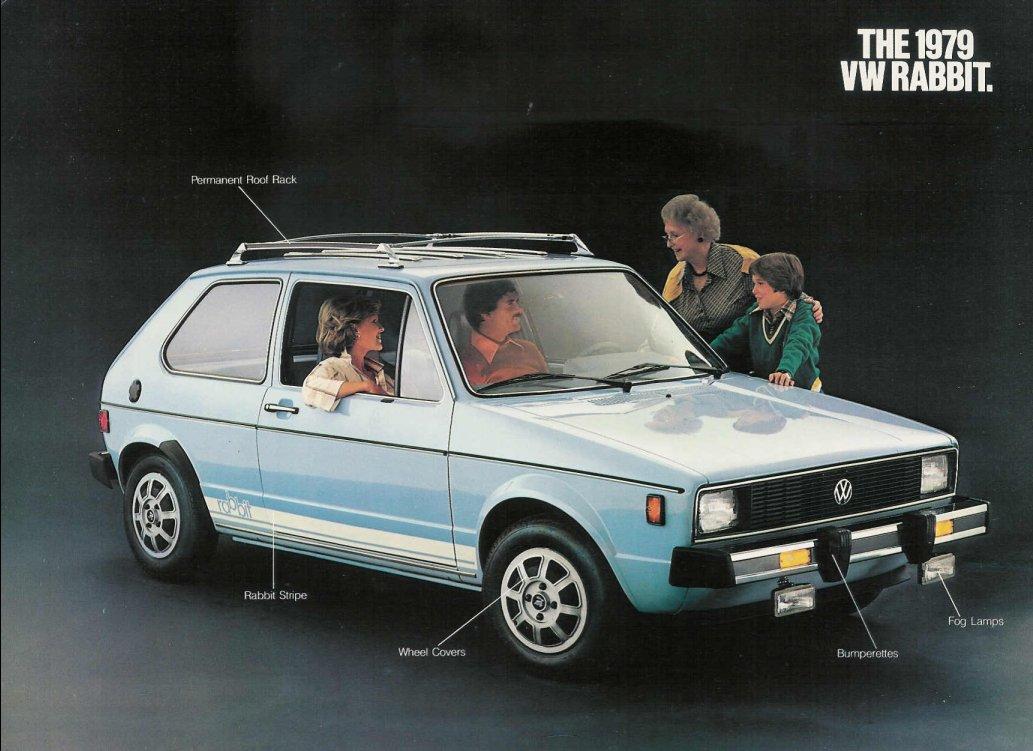 79 1979 Volkswagon Rabbit owners manual