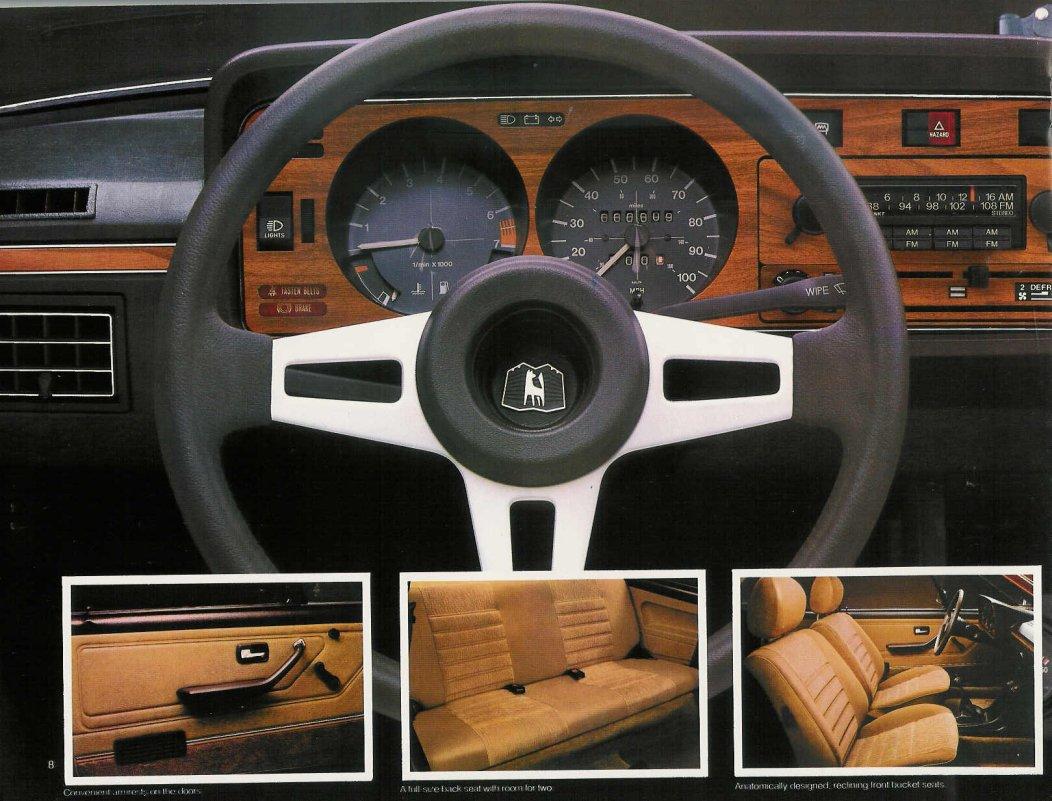 TheSamba.com :: VW Archives - 1979 VW Scirocco Sales Brochure - US Market