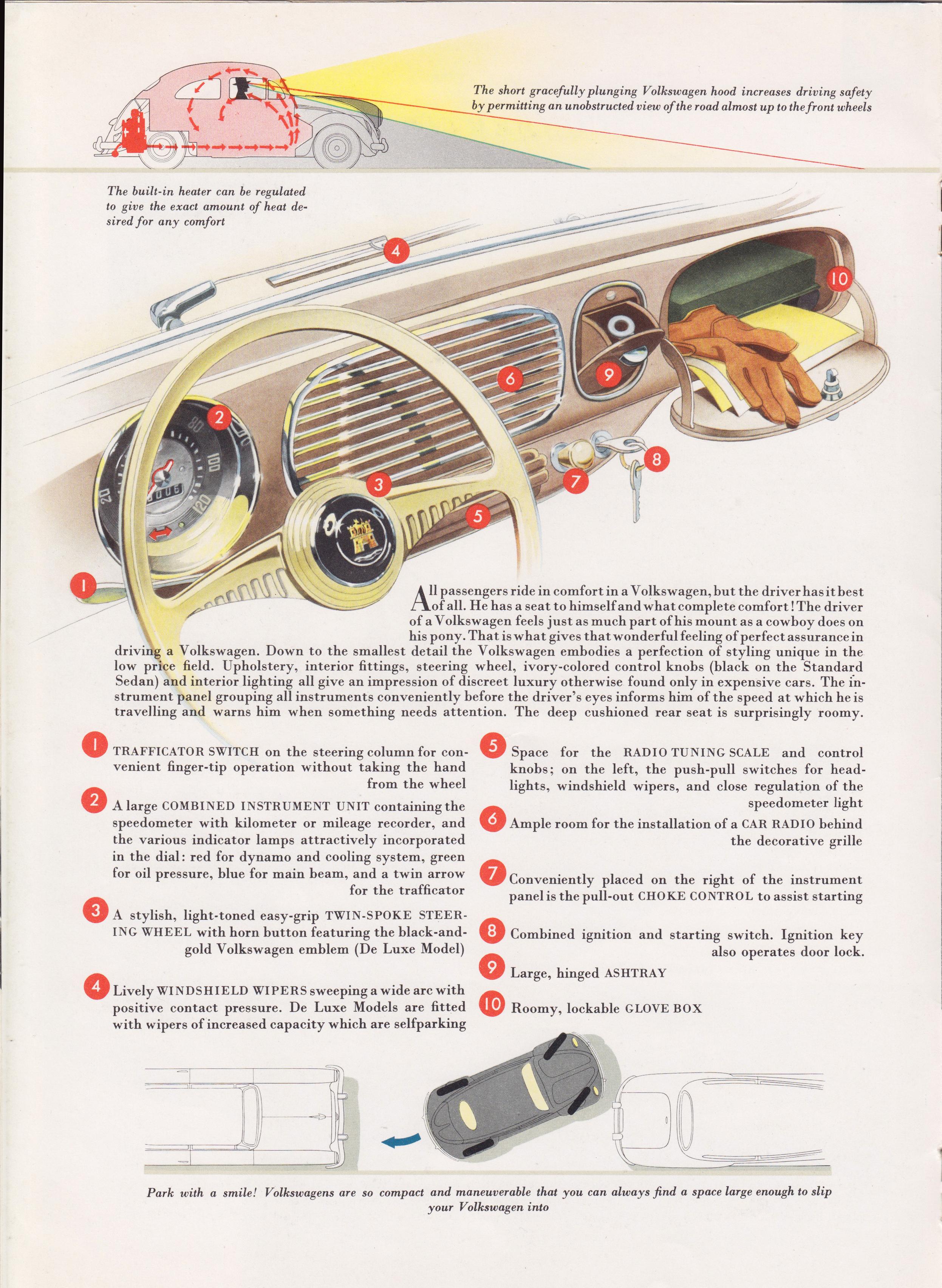 TheSamba com :: VW Archives - 1953 VW Beetle Sales Brochure